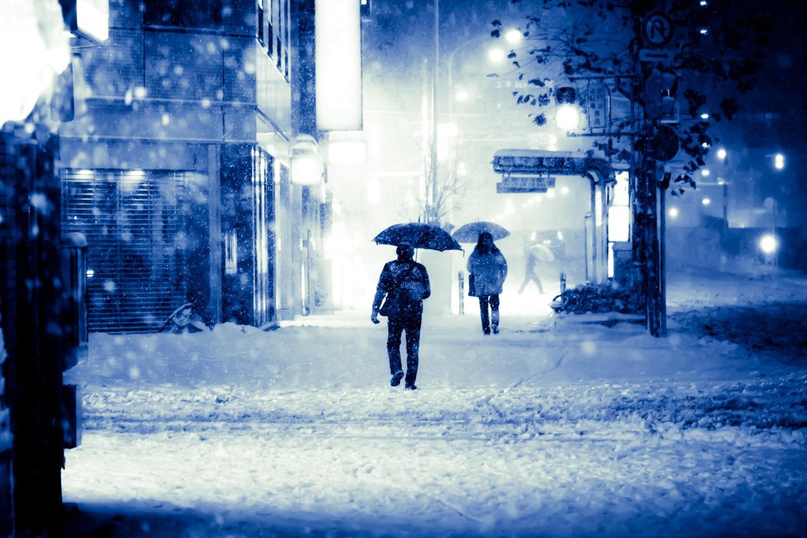 首都圏に大雪予報><
