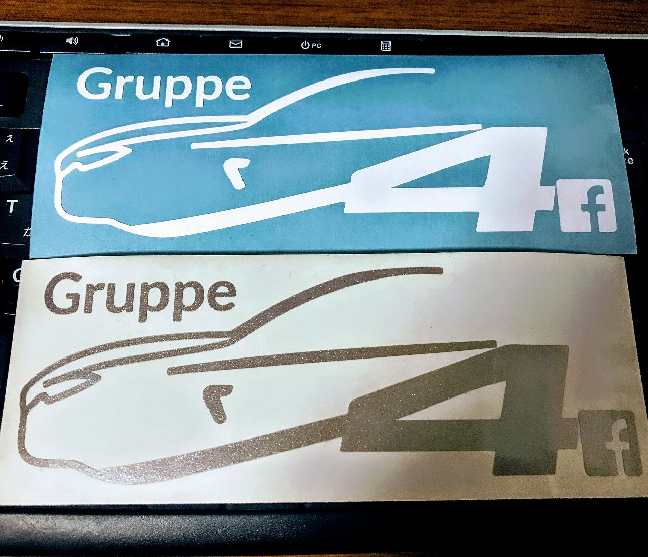 BMW4シリーズのステッカー&BMW4シリーズグランクーペのフェアの案内が届きました^^