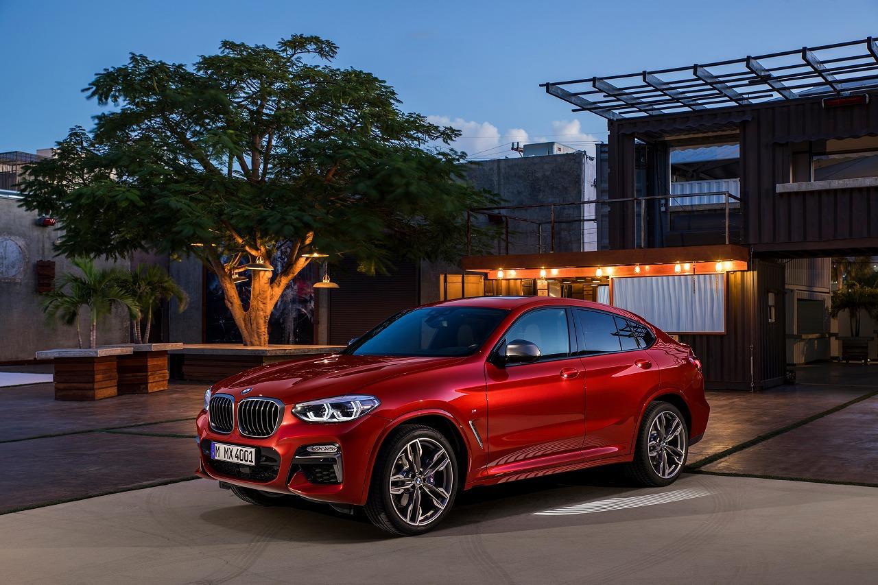 BMW X4がいきなりワールドプレミア!日本での発売日やラインナップは?