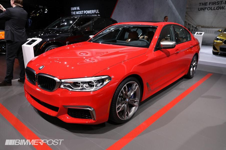 2018NY国際自動車ショーでIndividualカラーのBMWモデルが勢揃い^^どの色が好みですか?