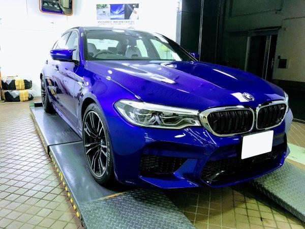 BMW新型M5(F90)試乗レポート^^最強・最速のモンスターマシンでした♪