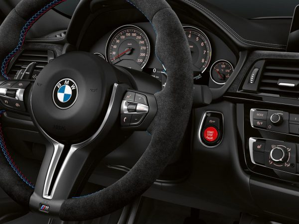 BMW新型M5やM2コンペティション、M3 CSに装着されている赤のBMWエンジンスタート・ストップREDボタンがカッコいい♪純正品REDボタンの工賃込み価格は?