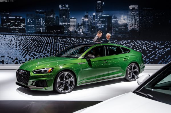 Dセグメント4ドアクーペの最強マシン「Audi RS5 Sportback」が登場!BMWもM4グランクーペ出してくれないかなあ^^;