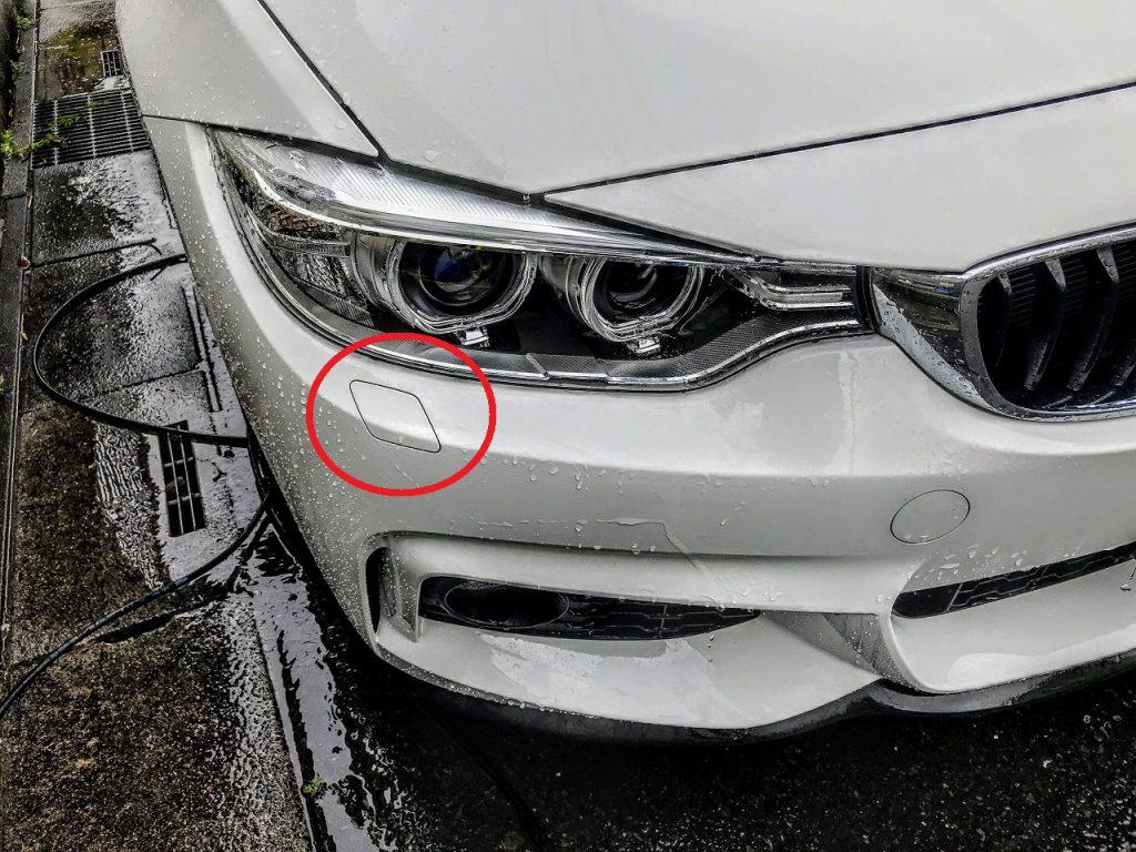 BMW3、4シリーズ(F30,F31,F32,F36)がLCIでヘッドライトウォッシャーが無くなった件