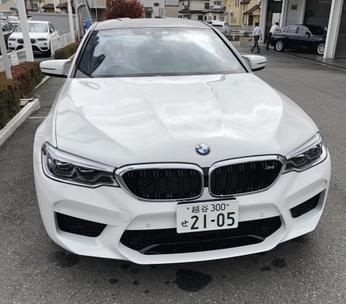急げ~!BMWディーラー展示車・試乗車として今週末限定で新型M5がWako BMWに!