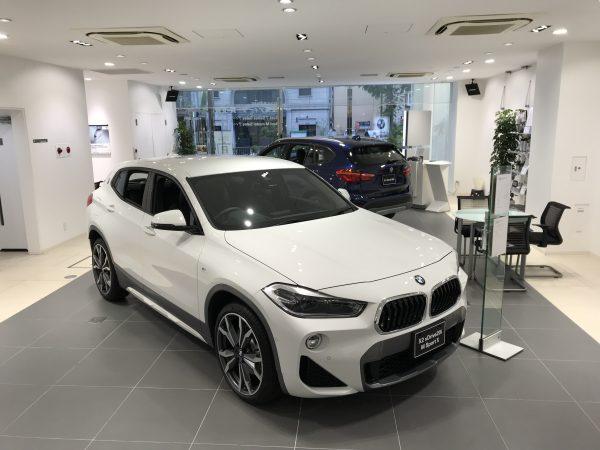 BMW X2「Msport X」にアルピンホワイトのボディカラーは個人的には・・・