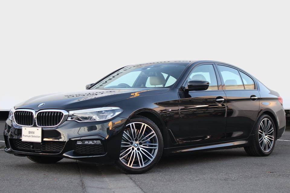 BMW 540i Mスポーツ(G30)の1年落ちの低走行車がお買い得すぎて新車買う意欲が無くなりそうです。。。