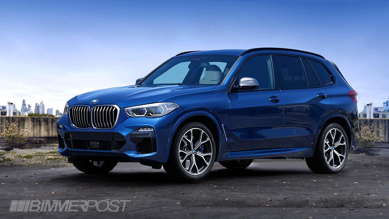 新型BMW X5(G05)のデジタルプレビュー!予想CGのクオリティがそのまま出しても違和感ないクオリティ^^