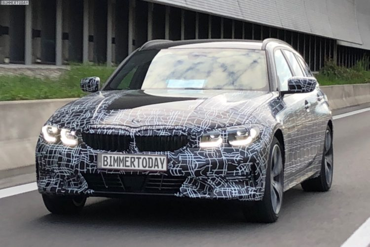 【新型車】次期BMW 3シリーズツーリング(G21)の初のスパイショットが目撃されました!