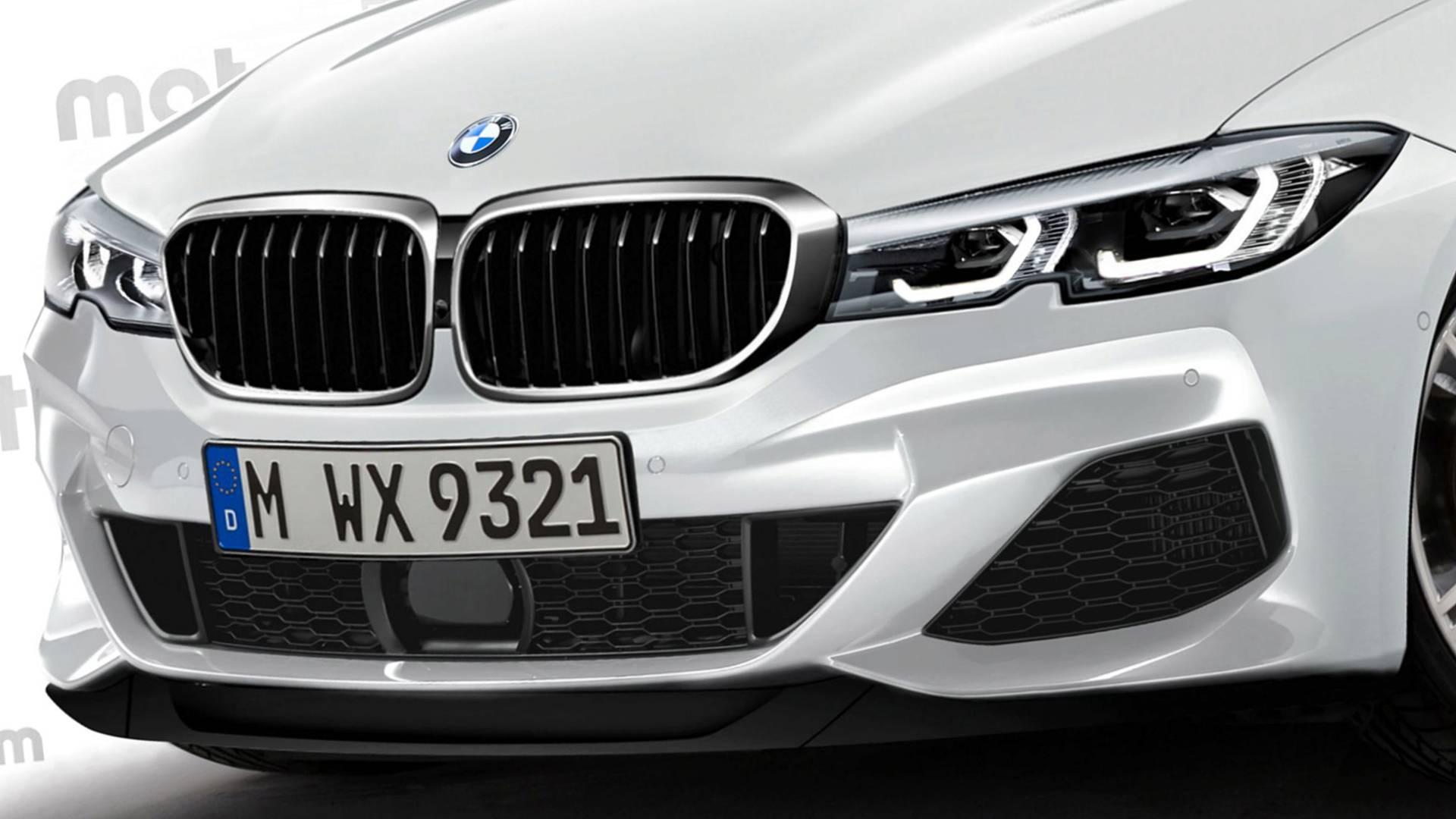 BMW次期3シリーズ(G20)の最新レンダリング画像♪このまま出ても違和感ないレベルです^^