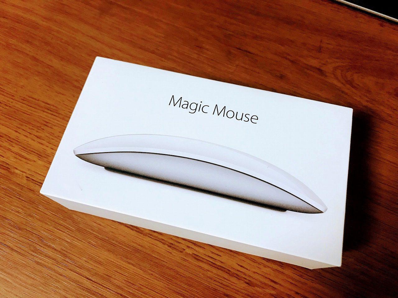 MacBook Pro用にApple純正マウス「Magic Mouse 2」を買ってみた^^