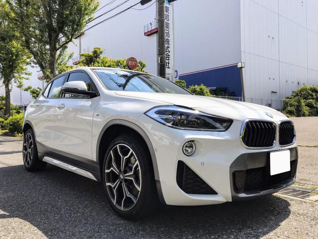 BMW新型車「X2 xDrive20i Msport X」に試乗してきましたので感想など^^アルピン・ホワイトなボディカラーもチェック!