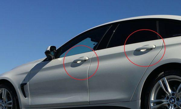 BMWのドアノブが上下に少し遊びがあって下に引っ張っても開かない理由とは?