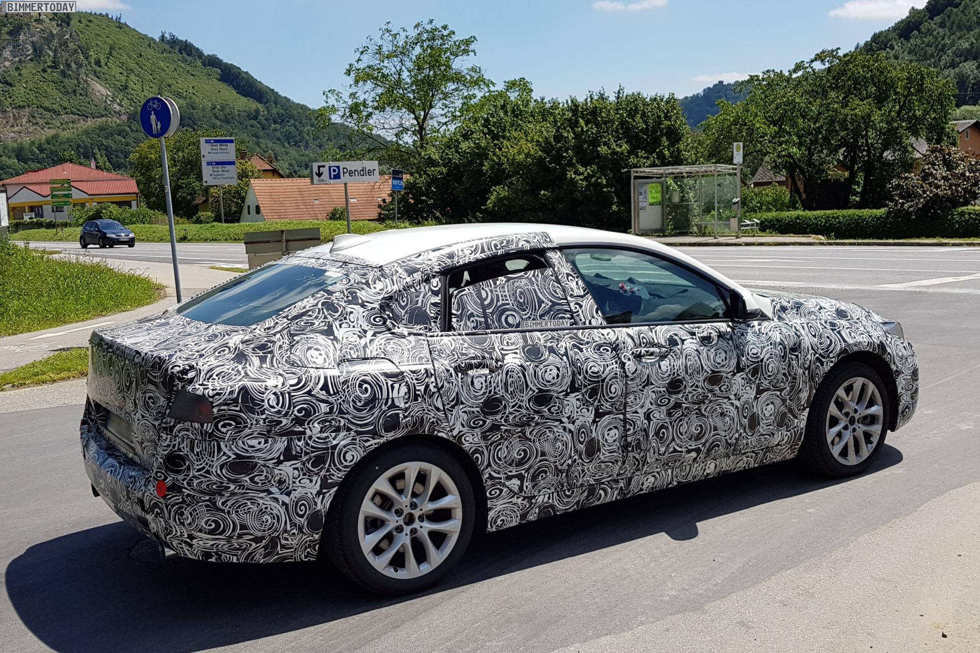 BMW2シリーズグランクーペ(F44)の最新スパイショット!M235i xDriveグランクーペが2019年7月から生産予定♪