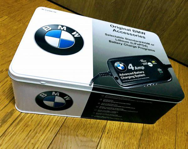 BMW純正(日本未発売/US限定)バッテリー充電器を買いました^^開封レビュー♪