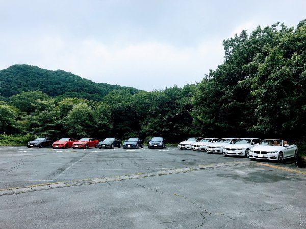 台風の中、BMW4シリーズグループの北関東オフ榛名編に参加してきました^^;【BMW 4er Gruppe JP】