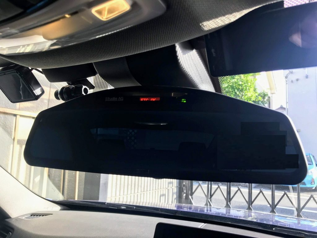 BMW420iGCからアルピナD4へ引き継いだアイテム「Studie(スタディ) Wide Angle Rear View Mirror」♪