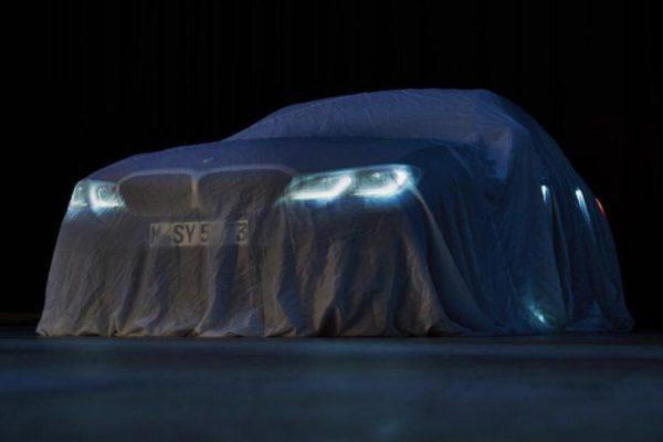 新型BMW3シリーズ(G20)の公式ティザー写真やソフトトップな次期4シリーズカブリオレスパイショットなど^^