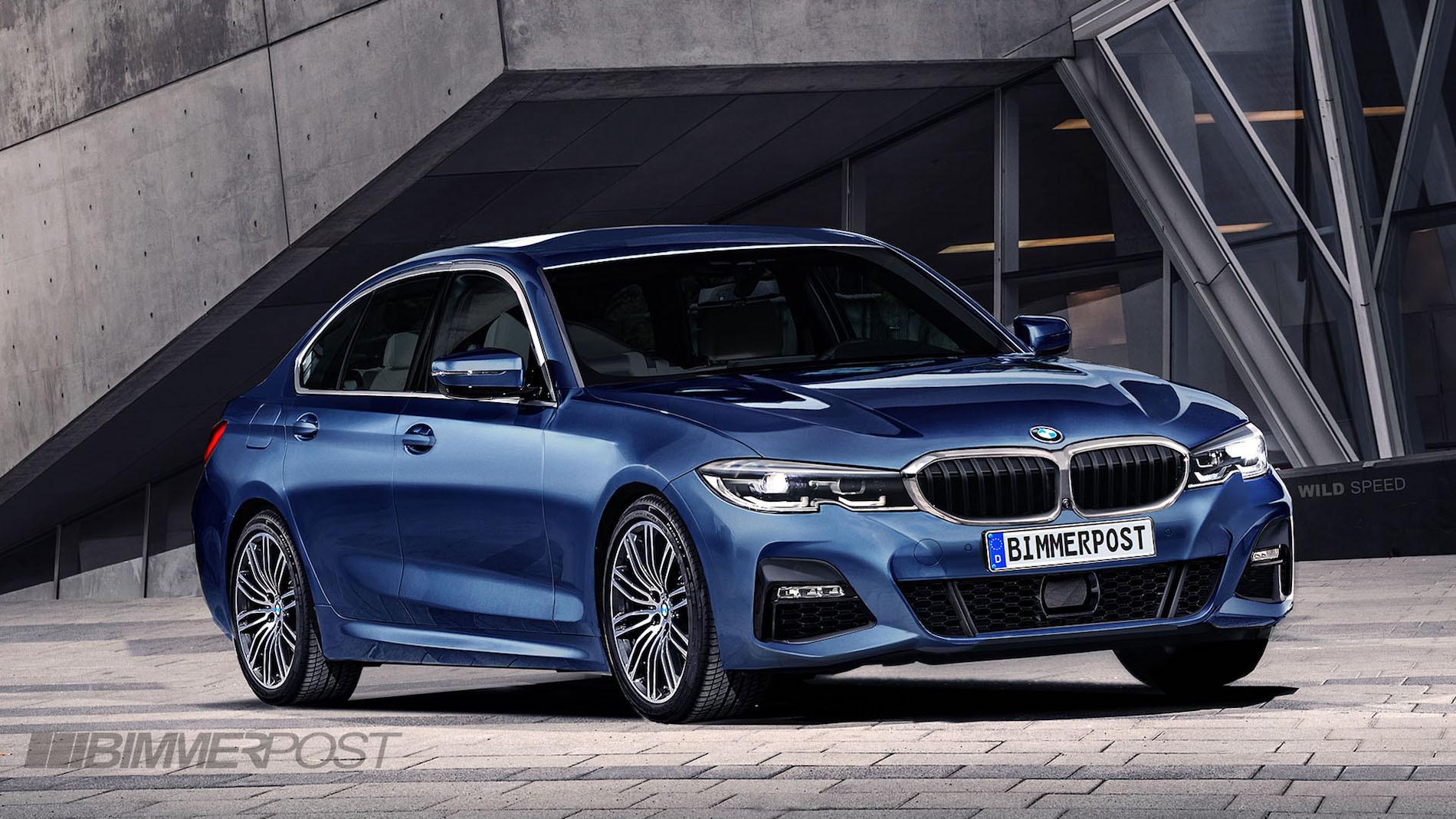 新型BMW3シリーズセダン(G20)が10月2日パリモーターショー2018でワールドプレミア確定!!