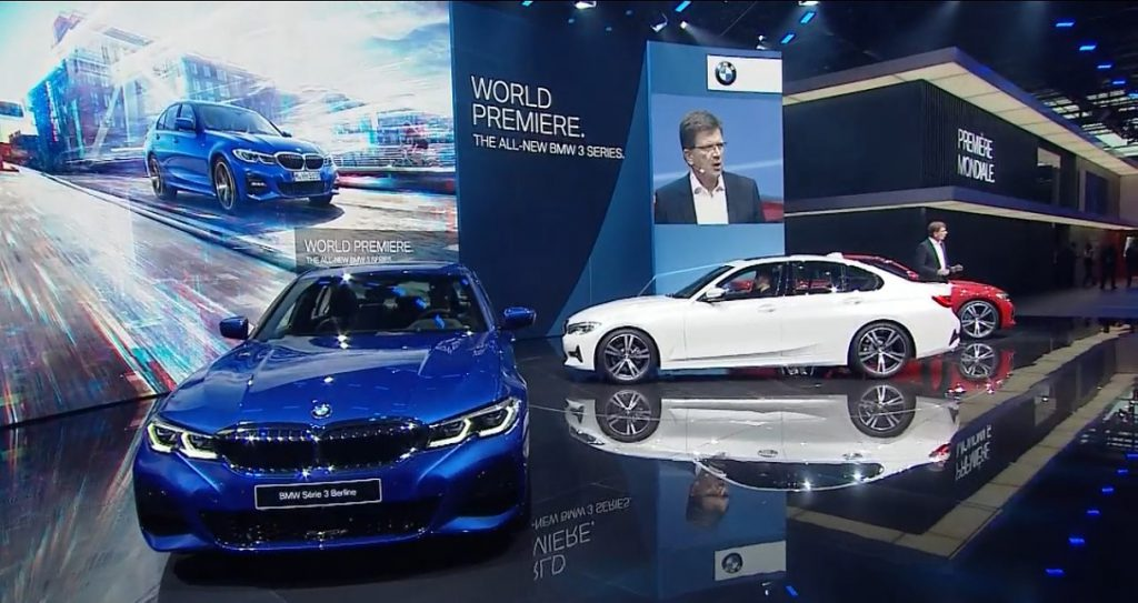 BMW新型3シリーズセダン(G20)が待望のワールドプレミア!!Mスポーツ、Sport/Luxury Lineのデザインをじっくりと見てみました^^
