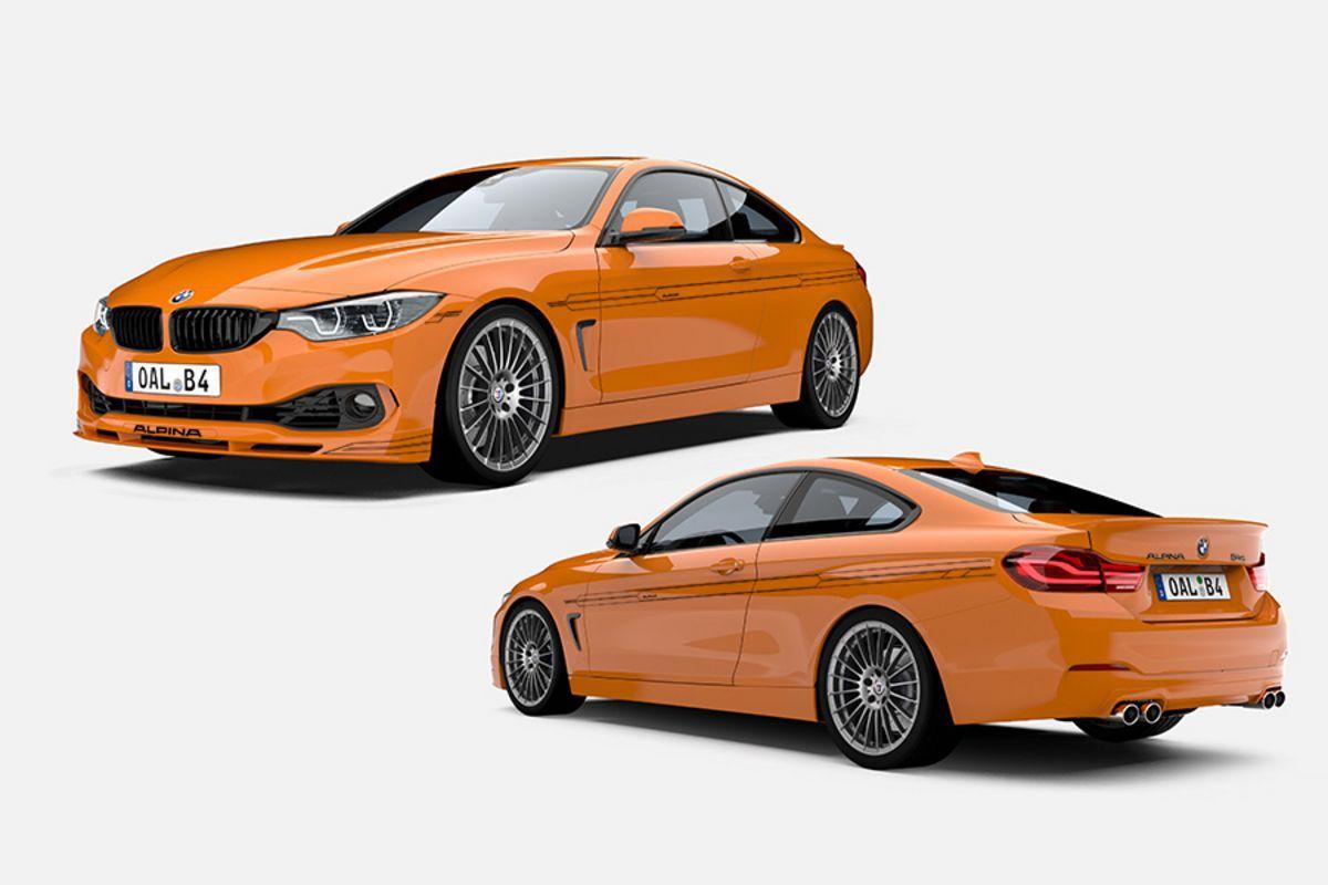 いきなり発売!452馬力トルク680Nmの世界限定99台「BMW ALPINA B4 S Bi-Turbo EDITION 99」クーペ&カブリオレが素敵すぎます^^