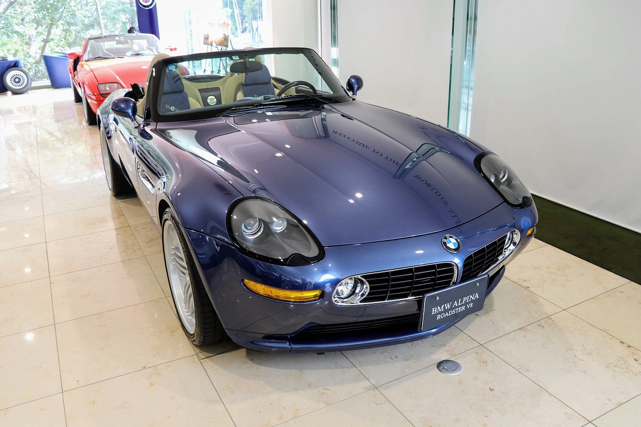 【BMW Z8 ALPINA ROADSTER V8編】稀代のアルピナオープンモデルを展示「BMW ALPINA Heritage Days」に行ってきました^^