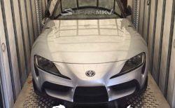 とうとう新型トヨタ「スープラ」市販モデルのカモフラージュなしのリーク写真が!?