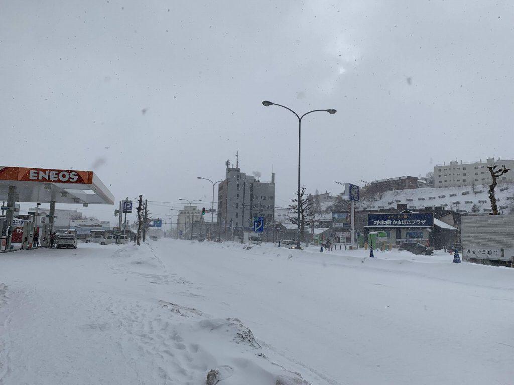年末に北海道旅行に行ってきました^^レンタカーの日産ノートが大活躍♪