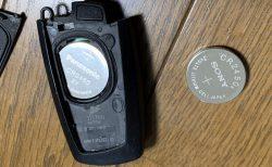 BMW ALPINA D4初の警告灯!?リモコンキーの電池交換のアラートでした(^^;【BMW3,4シリーズF3系の対応電池&交換方法】