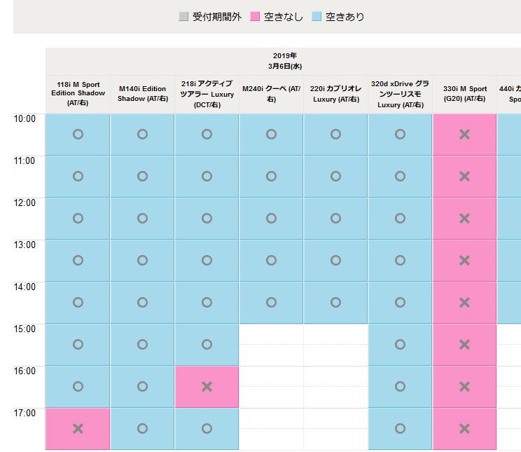 BMW新型3シリーズ330iMスポ(G20)のWeb試乗予約(BMW GROUP Tokyo Bay)が開始!お台場の試乗コースは走りやすいのでおすすめです^^