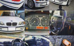 代車2001年式E46型BMW3シリーズツーリング(325iTR[GH-AV25])の外装・内装・走りのレポート! なかなか面白いクルマですね♪