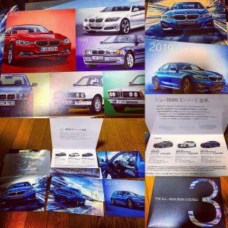 新車BMW3シリーズの特別先行内覧会のDMが届きました♪全国のディーラーで展示車や試乗車を用意しノベルティも魅力的です^^【THE ALL-NEW BMW 3 SERIES】