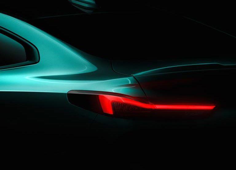 BMWから新型車2シリーズグランクーペ(F44)がようやく正式に11月に初公開との発表でティザー画像公開♪