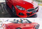 3月末に発表のBMW新型Z4ですが本日からBMWディーラーでは展示車や試乗車が続々入庫中^^