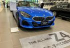 鮮やかな青「ミサノ・ブルー」の新型Z4をBMW Group Tokyo Bayで見てきました^^