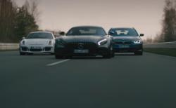 ポルシェGT3RSとメルセデスGTのデッドヒートを尻目にクラシカルな曲で颯爽と抜いていくALPINA B5ツーリングのプロモ動画が面白い^^