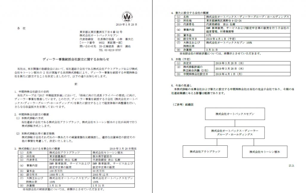 BMW正規ディーラーのアウトプラッツ、モトーレン栃木を統合した「オートバックス・ディーラーグループ・ホールディングス」が誕生!何が変わるの?