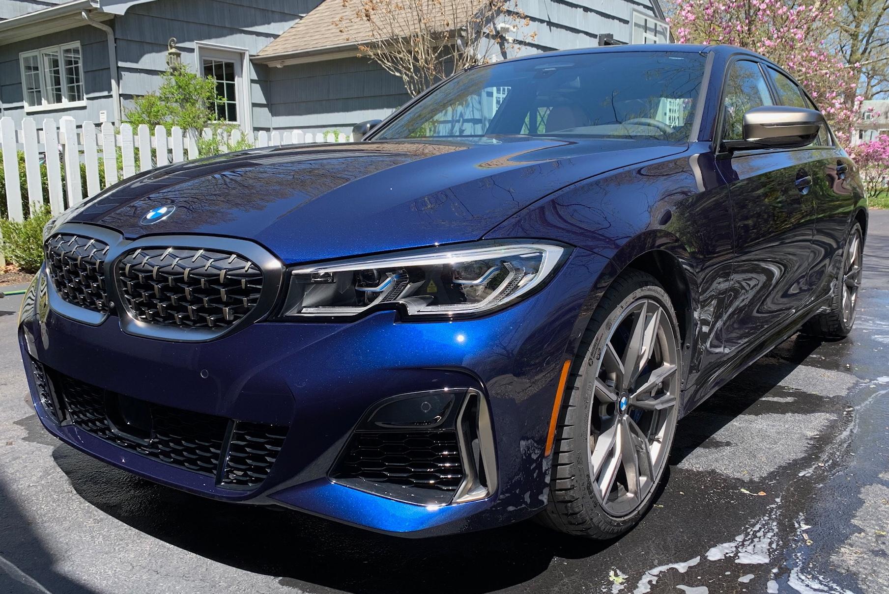 タンザナイト・ブルーの新型bmw3シリーズ G20 M340i Xdriveが素敵すぎます それに比べて日本仕様は