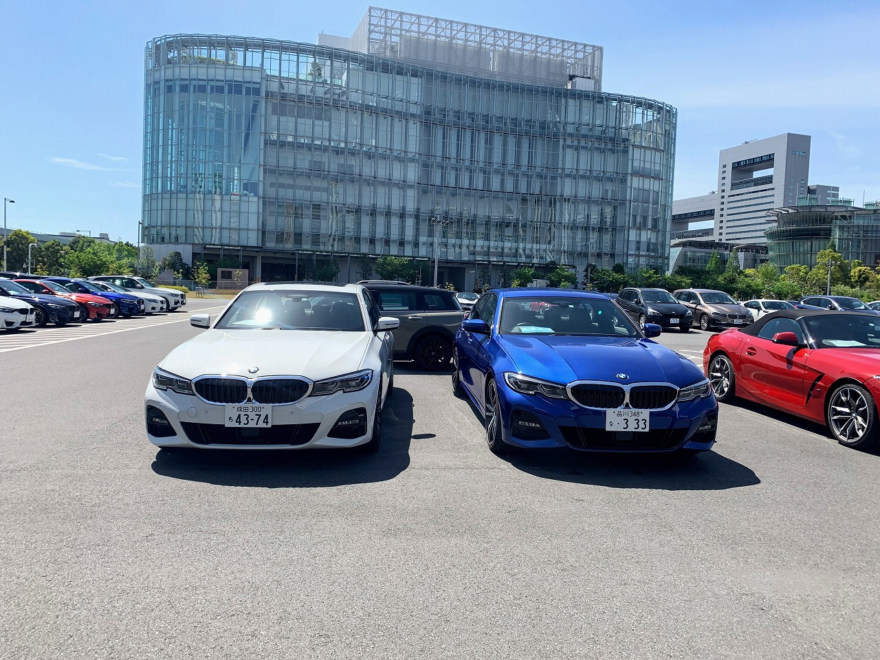 BMW新型3シリーズ(G20)320i Mスポーツを再度試乗しました^^サイドウィンドウがアコースティック・ガラスになるサウンドパッケージの静寂性が凄い!