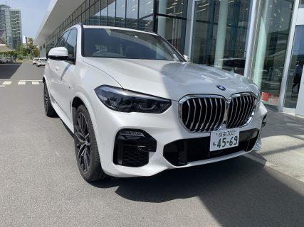 BMW新型X5(G05)xDrive35d M Sport(車両本体価格999万円)に試乗しました^^