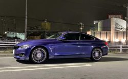 BMW ALPINA D4 BITURBO COUPÉとのLast Night Drive!そして本日お別れしてきました。手放した理由は?