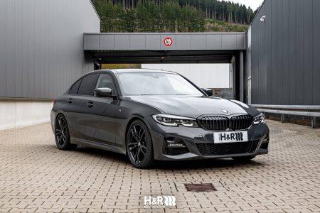 車高を程よく下げる新型BMW3シリーズ(G20)用のH&Rスポーツスプリングが発売!