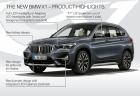 新型BMW X1(F48)オフィシャルフォトデビュー!LCIフェイスリフトでキドニーグリル巨大化!