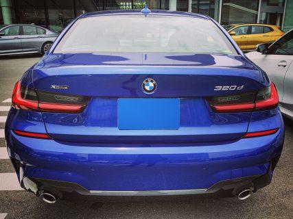 BMW Tokyo Bayの試乗車8シリーズM850iが試乗中の事故?で予約していた試乗がキャンセルになりましたが、新型3シリーズ待望のディーゼルモデル320dなど試乗してきました^^