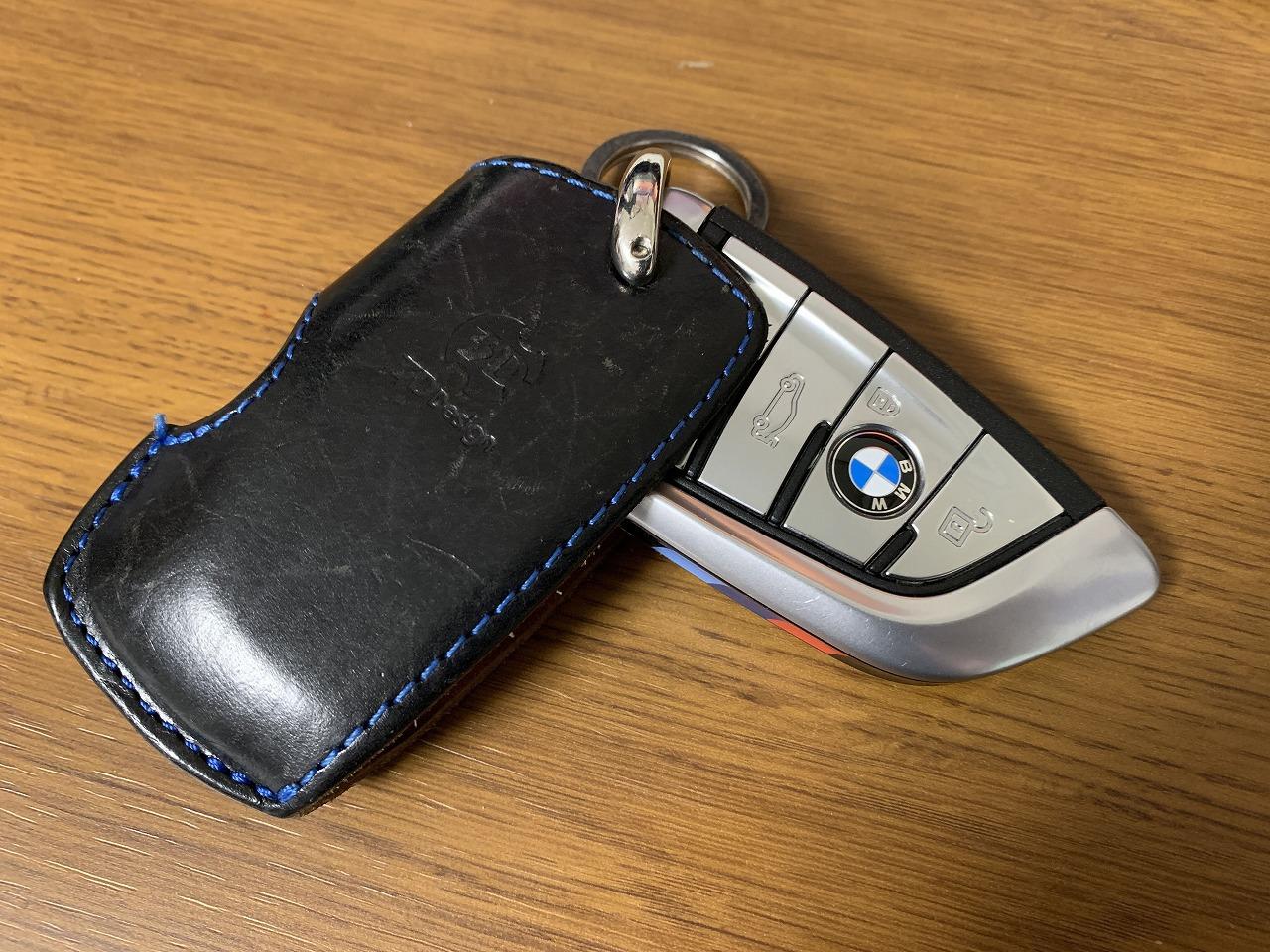 BMW5シリーズ(G31)のリモコンキーケースは「3D Designキーケース」を引き継ぎました^^