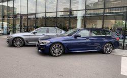 BMW523iツーリング(G31)と530iセダン(G30)Mスポーツを乗り比べ試乗しました^^愛車530iツーリングとの比較試乗で感じたことは?