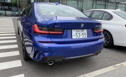 【試乗レポート】新型ディーゼルエンジンのBMW3シリーズ「320d xDrive M Sport」(G20)に試乗してきました♪