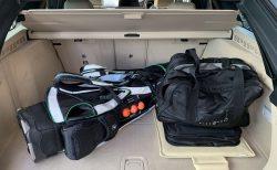 BMW5シリーズツーリングでゴルフに行ってきました^^ゴルフキャディバッグの積み込みも楽々でした♪キャディバッグは何個積める?