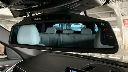 BMW G31にも「Studie(スタディ) Wide Angle Rear View Mirror」装着♪装着前・装着後の比較画像も^^