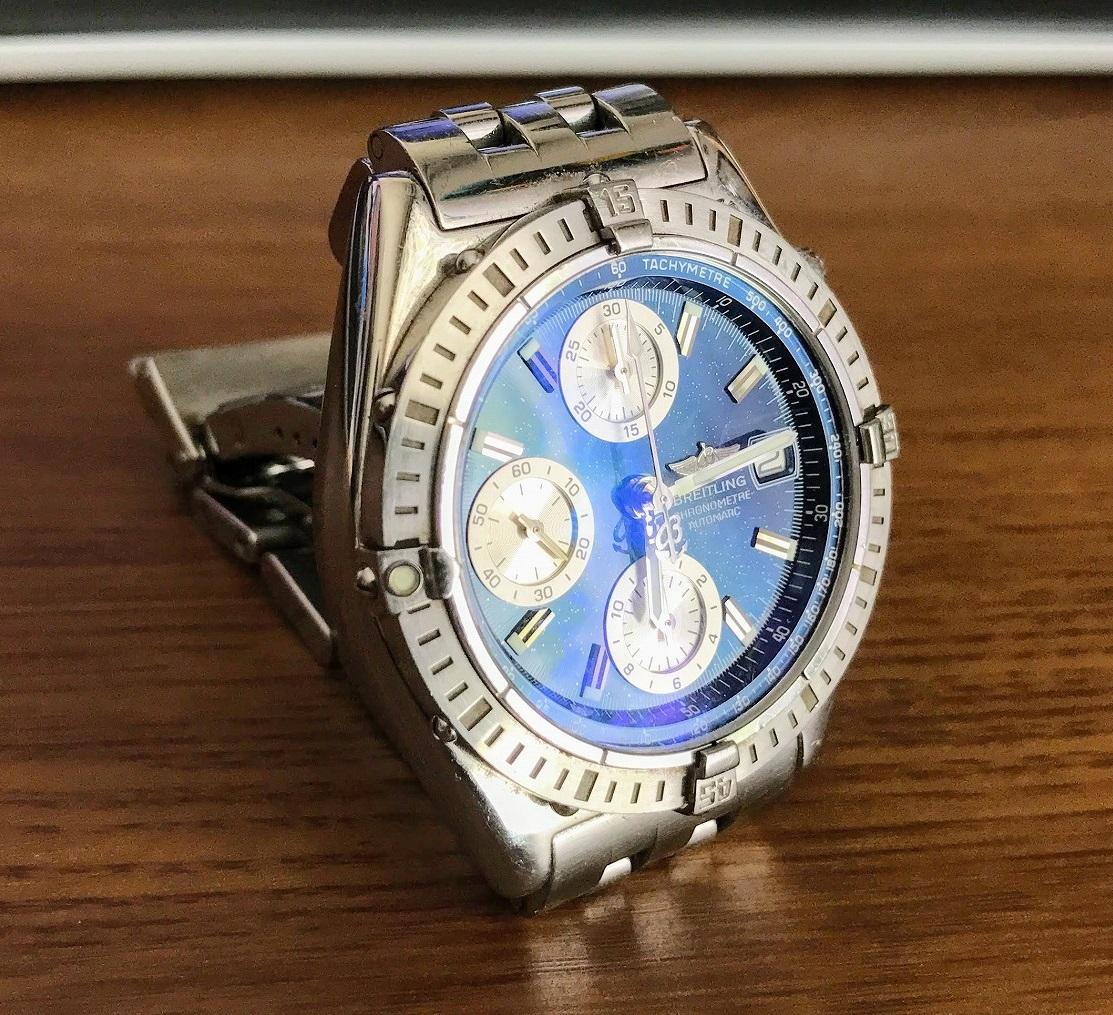 長年愛用している腕時計ブライトリング・クロノマットのオーバーホールのために「スタジオ・ブライトリング銀座」へ行ってきました^^